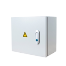METAL AC DISTRIBUTION BOX WITH CHANGE-OVER SWITCH