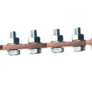 BUSBAR 7-HOLE WITH BOLTS & NUTS